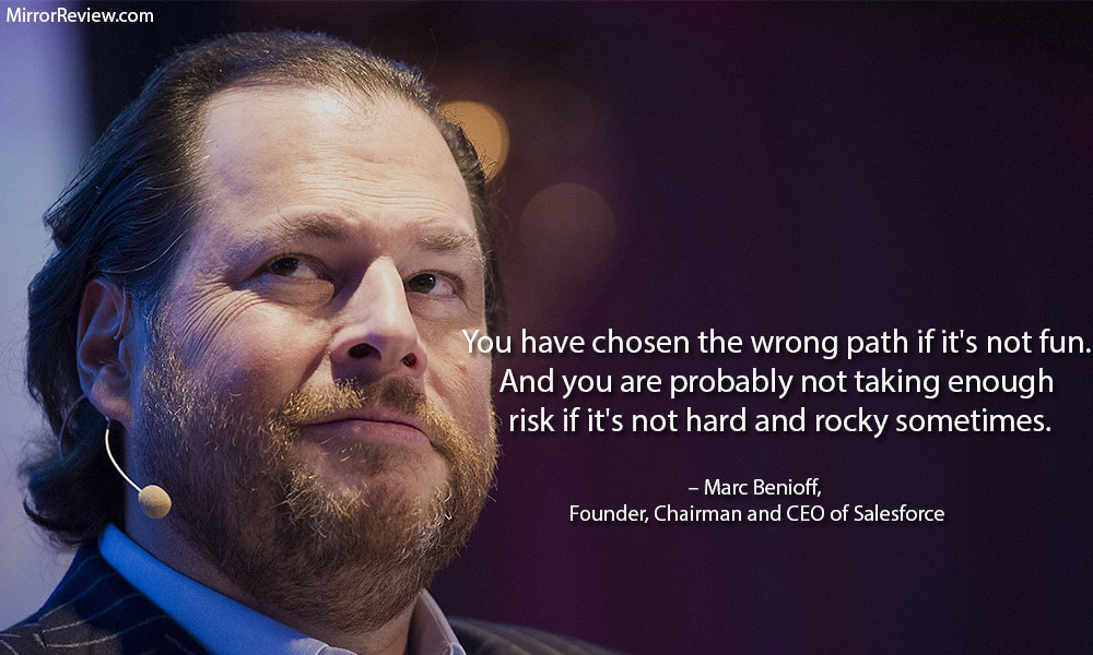 Marc Benioff motivation quote