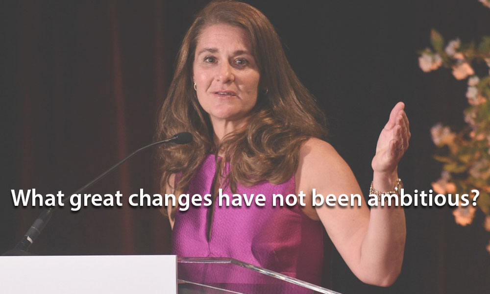 Melinda Gates Quotes on Women Empowerment