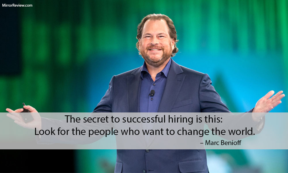 Marc Benioff quotes on Human Resource