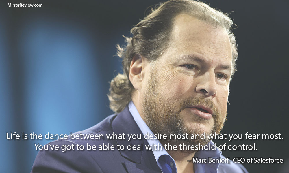 Marc Benioff Life quotes