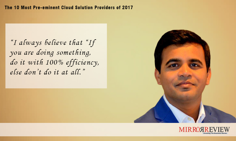 quotes on cloud by Shailendra Sinhasane (Shail), CEO at Mobisoft Quote
