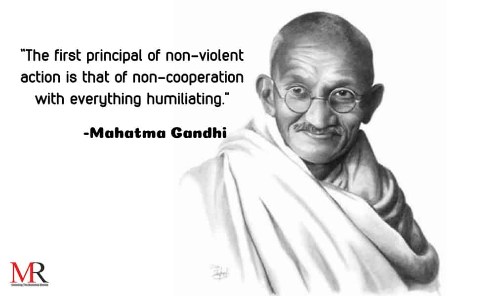 Quotes On Behalf Of International Non Violence Day Mirror Review