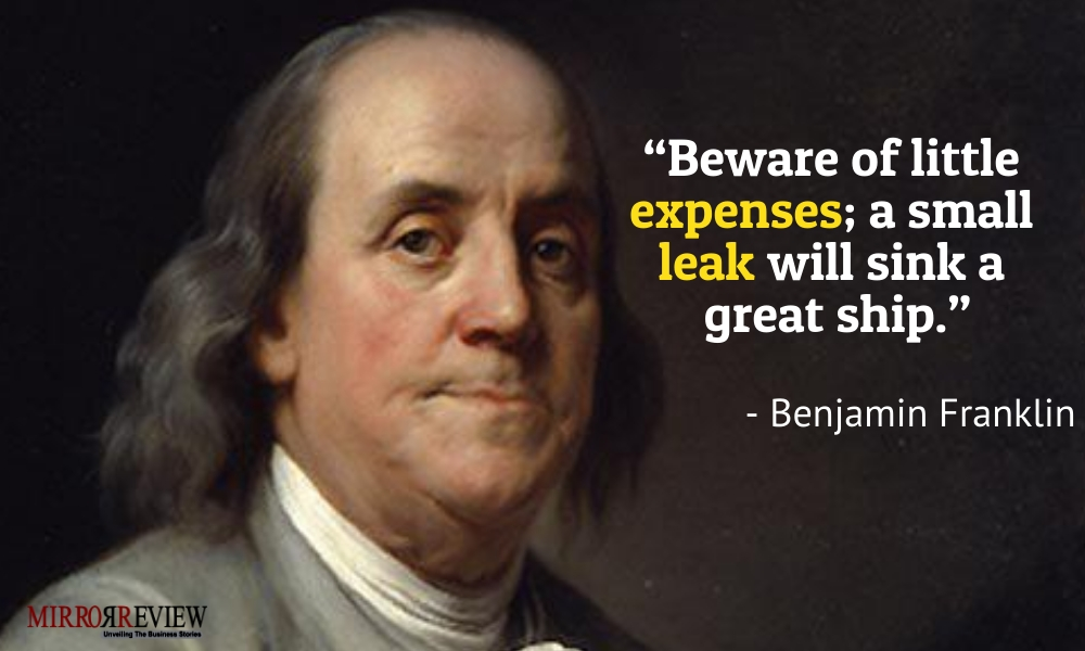 - Benjamin Franklin, American polymath