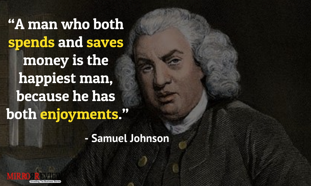 - Samuel Johnson, English writer