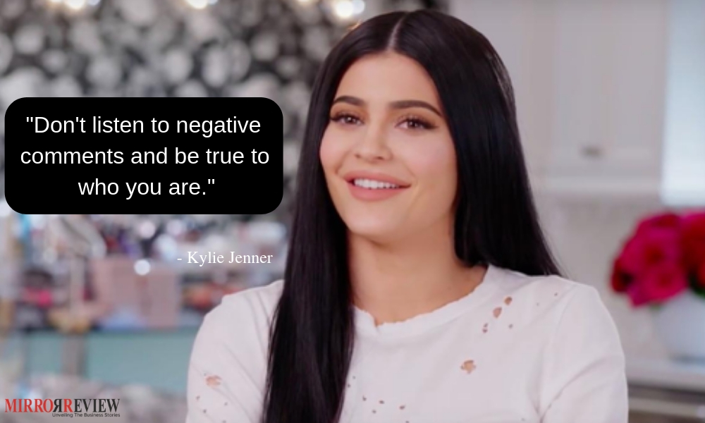 Kylie Jenner inspirational Quotes