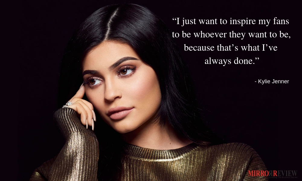 """15692eb206fed Kylie Jenner inspirational Quotes. """""""