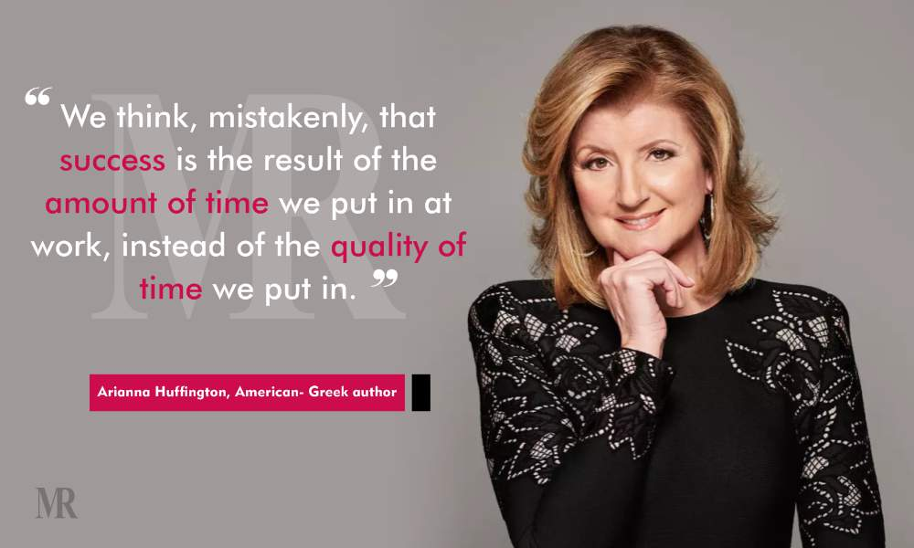 work life balance quotes by Arianna Huffington