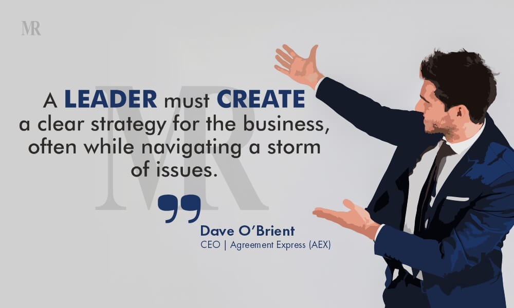 Dave O'Brien business Quote