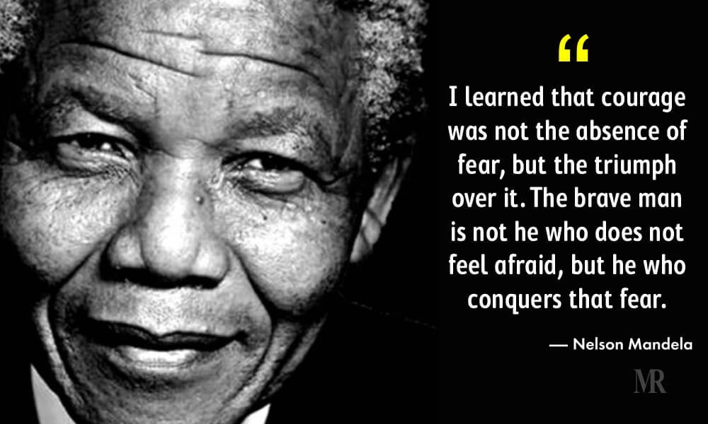 10 Quotes That Celebrates The Willpower On Nelson Mandela