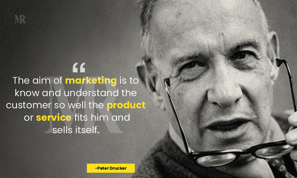 Peter Drucker Quotes on Customer Day