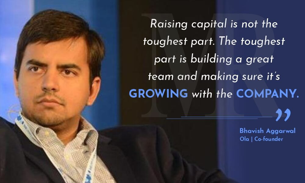 Bhavish Aggarwal quotes on startups