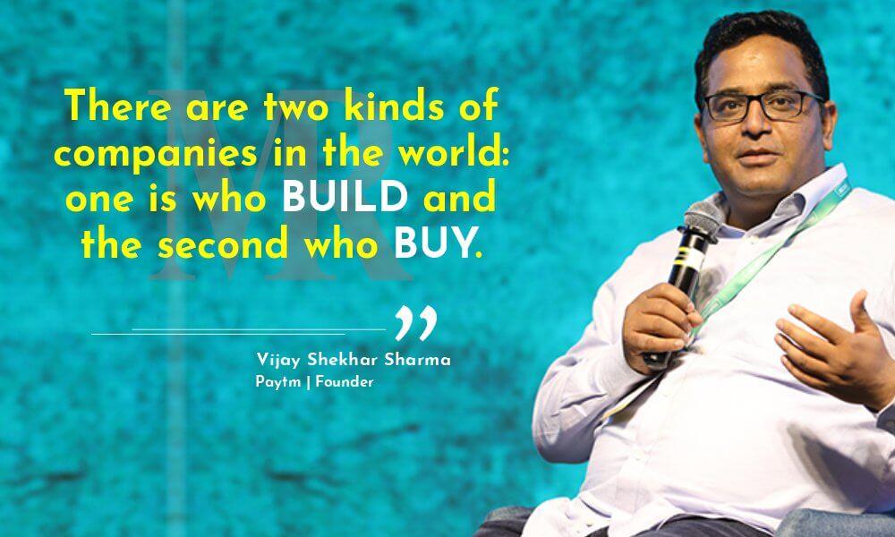 Vijay Shankar Sharma quotes on startups