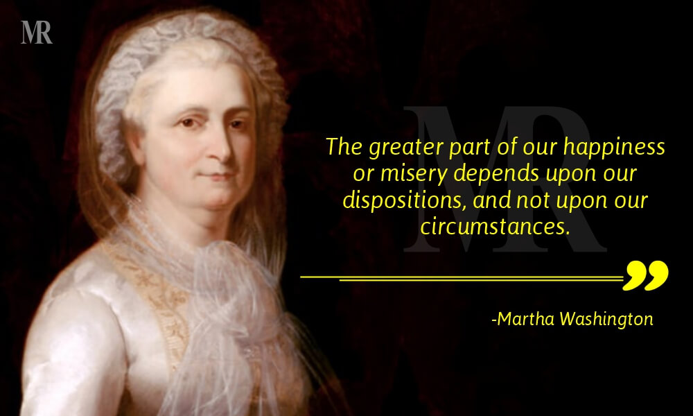 Bad Day Quotes By Martha Washington