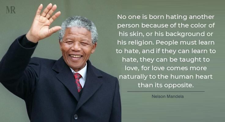 Nelson Mandela on Gandhi