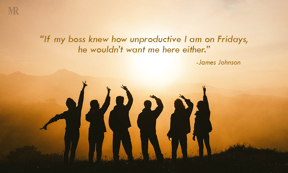 Friday feeling quotes