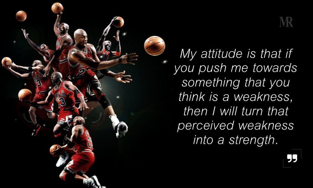 Michael Jordan quotes on attitude