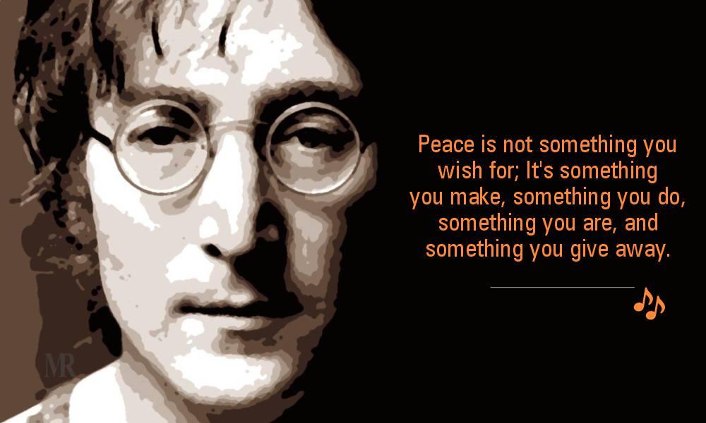 John Lennon quotes on Love