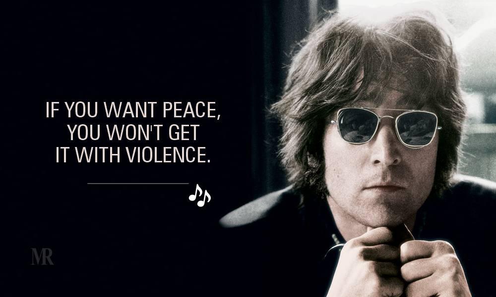 John Lennon quotes on Peace