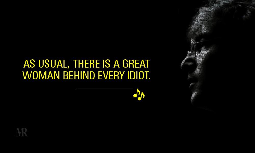 John Lennon quotes On Women