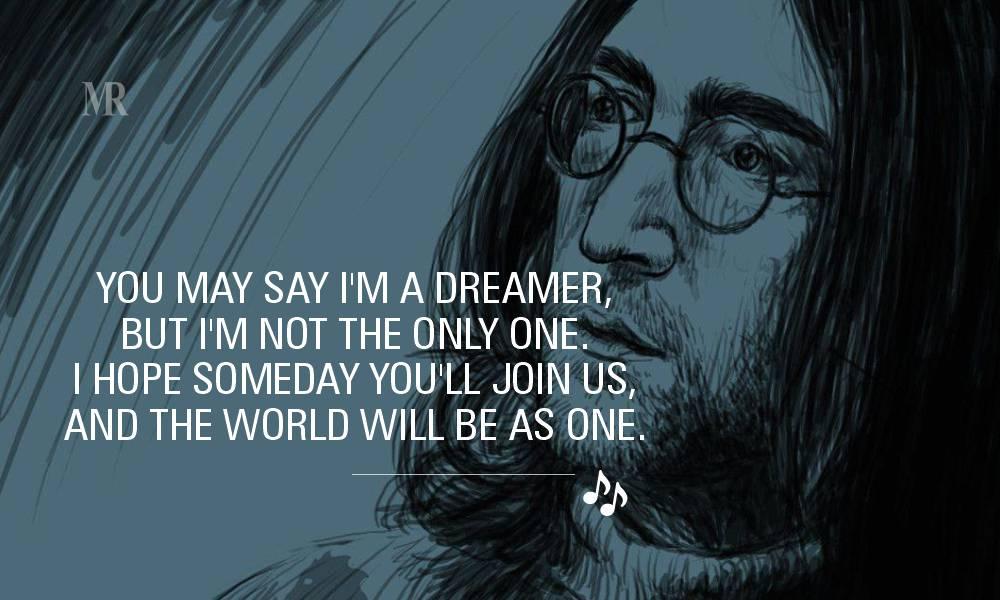 John Lennon quotes on Dream