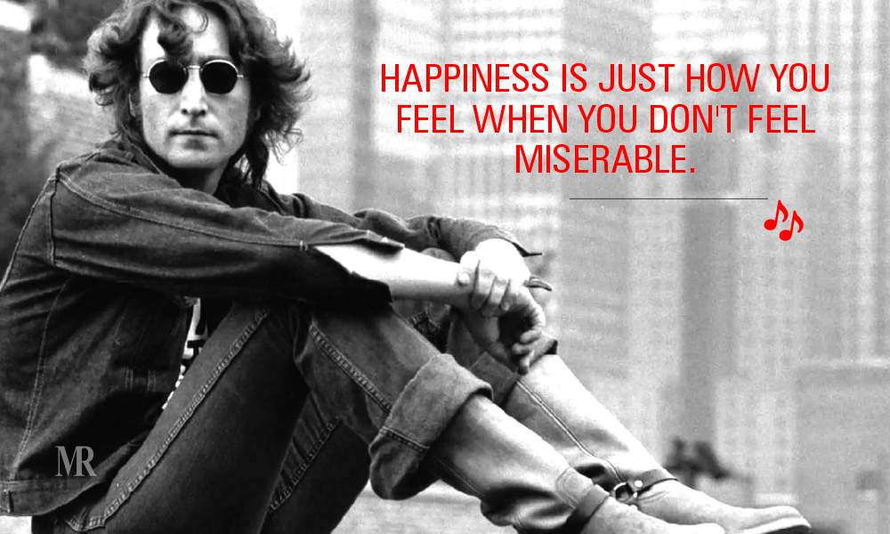 John Lennon Quotes On Happiness