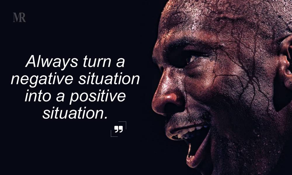 Michael Jordan quotes on positive attitude