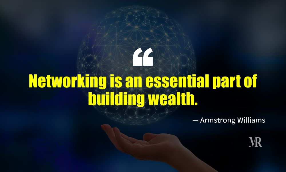 Networking Quotes By Armstrong Williams