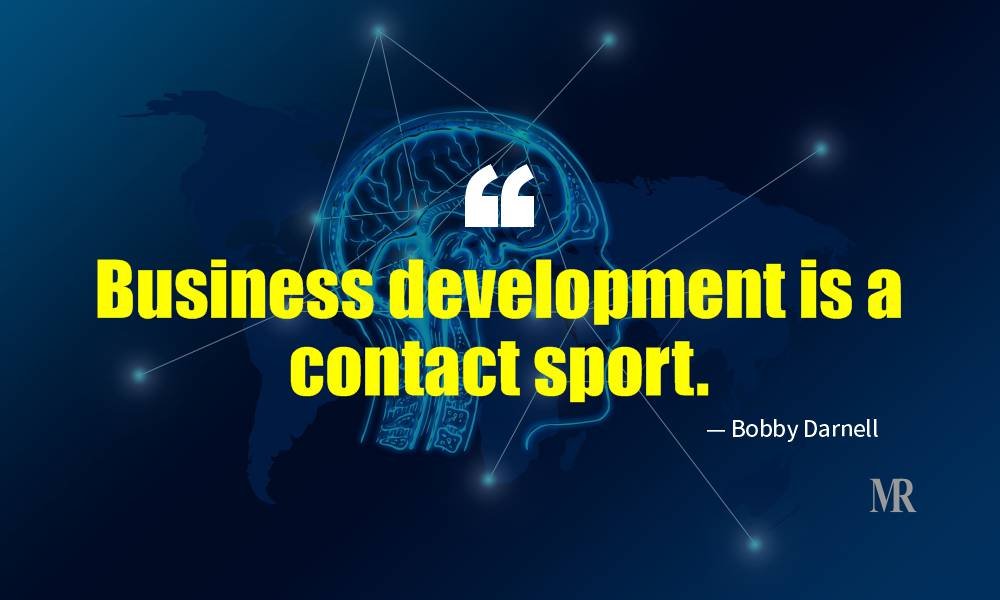 Networking Quotes By Bobby Damell