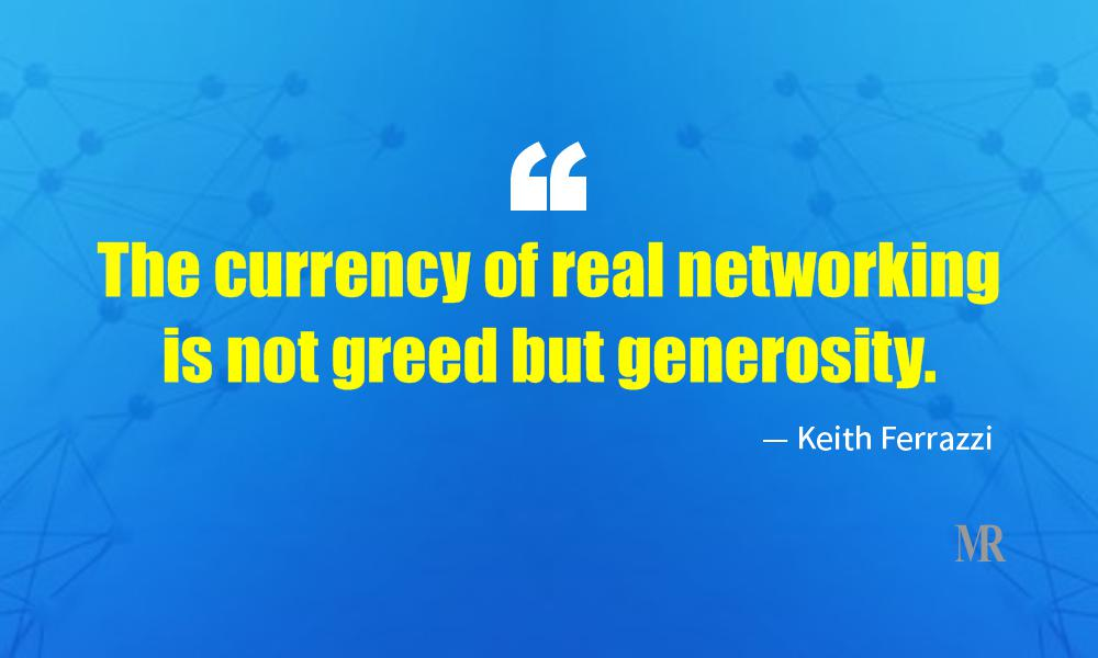 Networking Quotes By Keith Ferrazzi