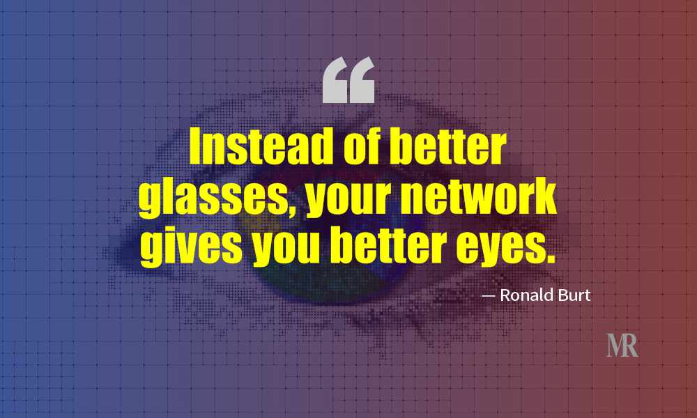 Networking Quotes By Ronald Burt