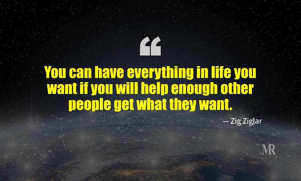 Networking Quotes By Zig Ziglar